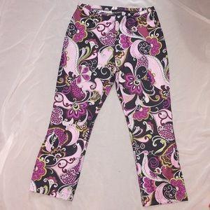 Express Printed Disco Pants 💐 Size Medium